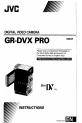 JVC GR-DVX PRO Camcorder, Page 1