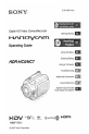 Page #1 of Sony HDR-HC5 Manual