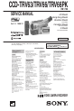 Preview Page 1 | Sony Handycam CCD-TRV63 Camcorder Manual