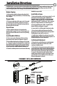 Page #2 of HES 8500 series Manual