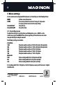 MAGINON DV-300 Camcorder Manual, Page 10