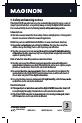 Page #5 of MAGINON DV-300 Manual
