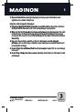MAGINON DV-300 Manual, Page #7