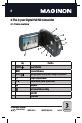 MAGINON DV-300 Camcorder Manual, Page 8