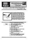 Roland VS-1680 Frequently Asked Questions Manual 19 pages