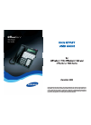 Samsung OFFICESERV 100 Series Operation & User's Manual 46 pages