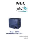 NEC XEN IPK DIGITAL TELEPHONE Programming Manual 638 pages