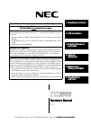 NEC DS2000 IntraMail Hardware Manual 78 pages