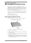 NEC VERSA SX HARD DISK DRIVE Manual  6 pages