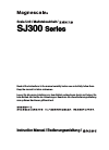 Magnescale SJ300 SJ300 Manual  76 pages