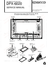Kenwood DPX-6020 Service Manual 37 pages
