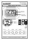 La Crosse WS-8115U-IT Instruction Manual 6 pages