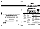 JVC HM-DH30000U - D-VHS HDTV Digital Recorder Service Manual 112 pages
