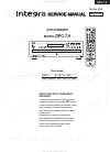Integra DPC-7.9 Service Manual 60 pages
