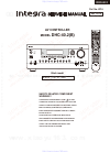 Integra DHC-40.2 Service Manual 155 pages
