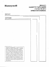 Honeywell DELTA21 Operator's Manual 11 pages