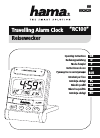 Hama RC100 Operating Instructions Manual 63 pages