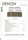 Denon DRM-800A Service Manual 41 pages