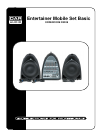 DAPAudio entertainer mobile set basic Product Manual 16 pages