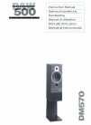 Bowers & Wilkins DM570 Instruction Manual 10 pages