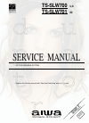 Aiwa TS-SLW700 Service Manual 35 pages