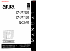 Aiwa CA-DW700M Service Manual 49 pages