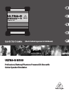 Behringer Ultra-G GI100 Quick Start Manual 16 pages
