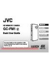 JVC GC-FM1 Basic user's manual
