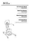 Joerns Healthcare Oxford Ascend User Instruction Manual 106 pages