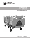 Joerns Healthcare Bari10A User & Service Manual 22 pages