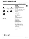 Indesit IWC 6165 Usermanualmanual