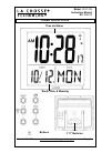 La Crosse 515-1316 Instruction Manual 6 pages
