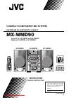 JVC MX-WMD90