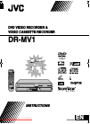 JVC DR-MV1 Instructions Manual 104 pages
