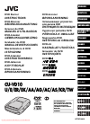 JVC CU-VD10 Instructions Manual 112 pages