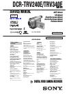 Sony DCR-TRV240E